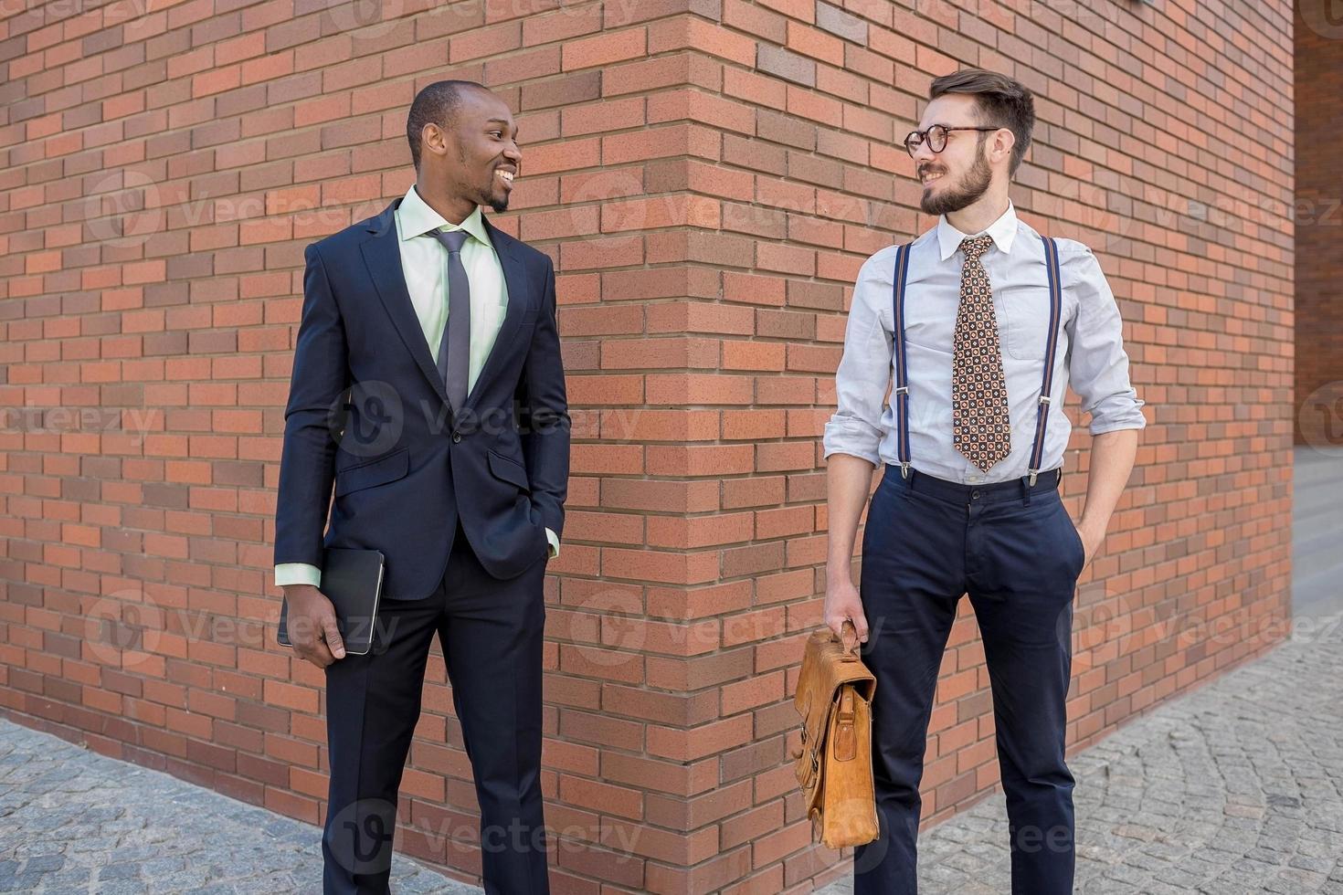 Portrait of multi ethnic business team photo