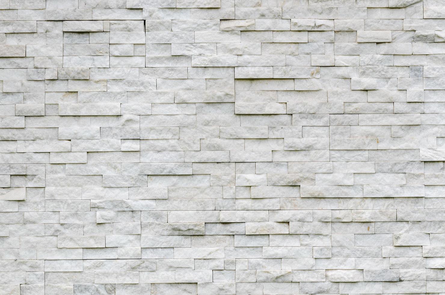 patrón moderno de muro de piedra real foto