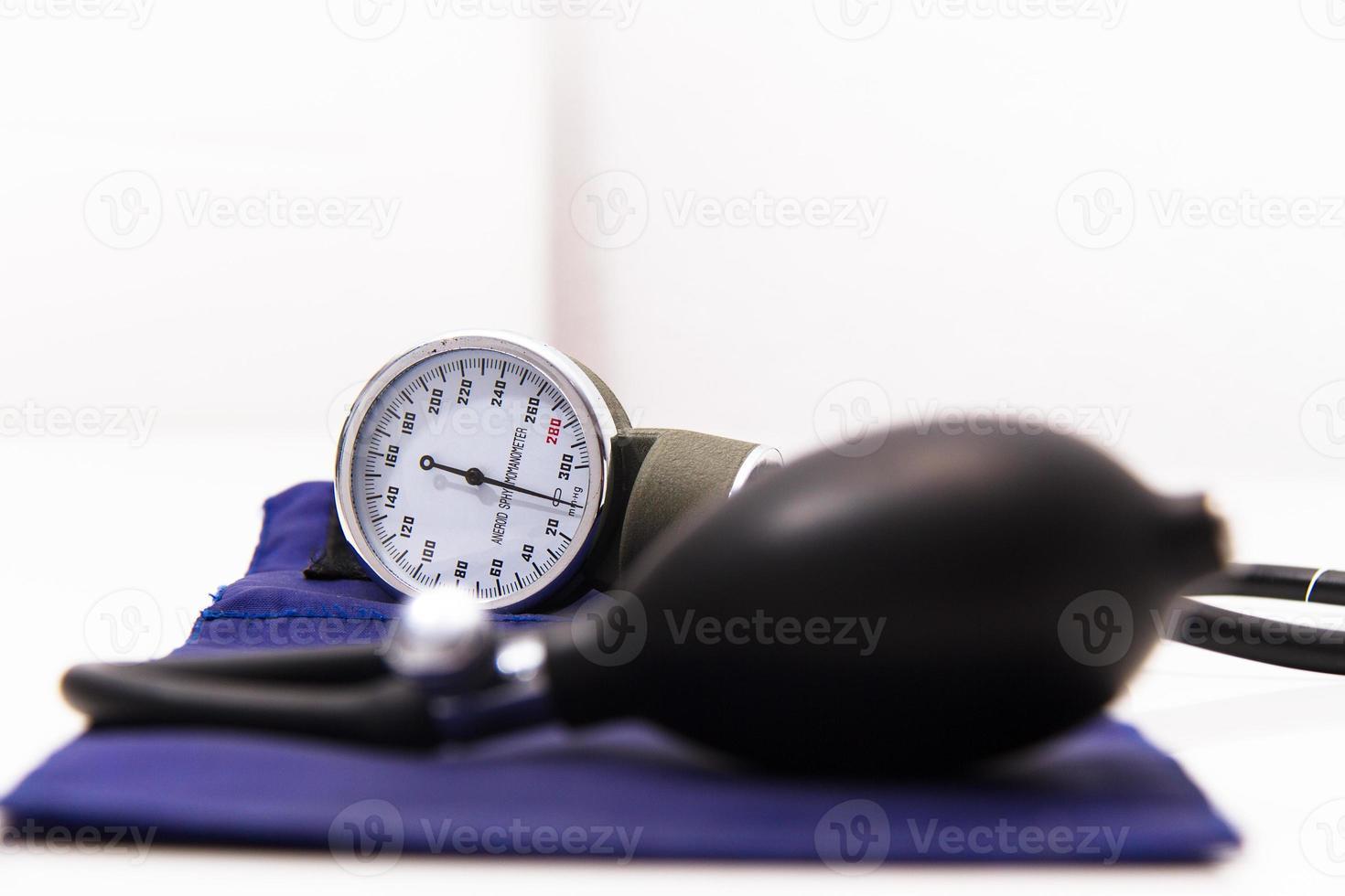 Blood pressure meter medical equipment photo