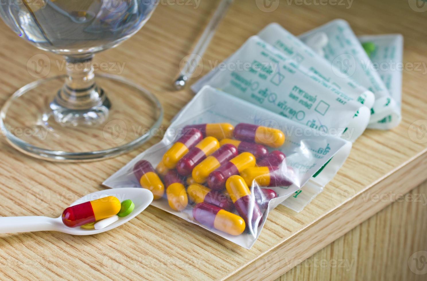 medicamentos. foto