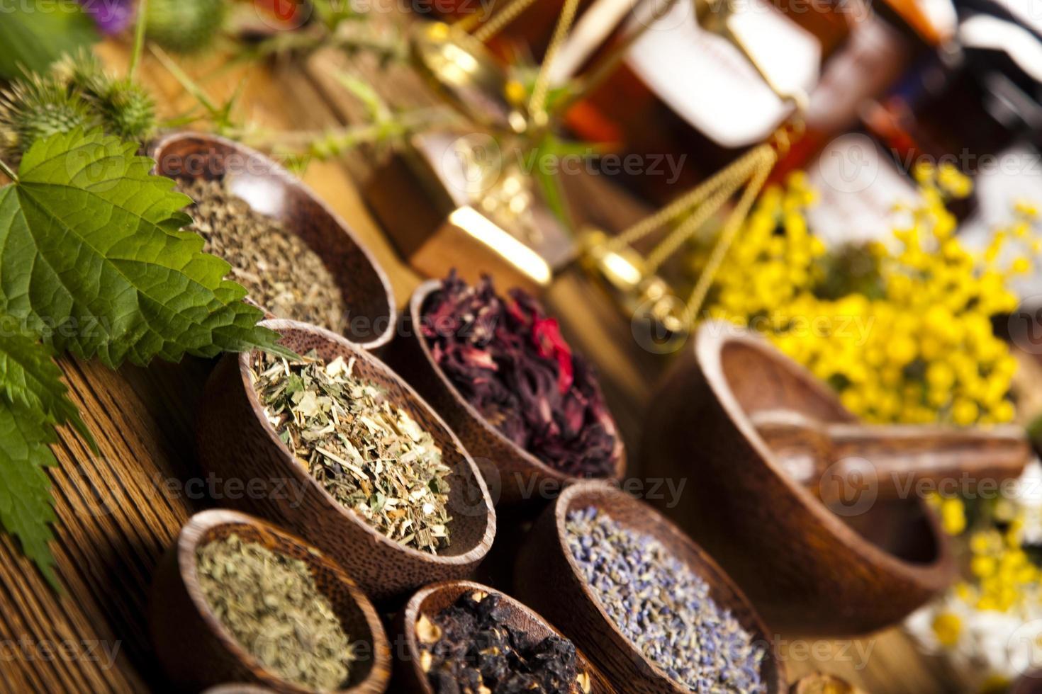 Natural medicine photo