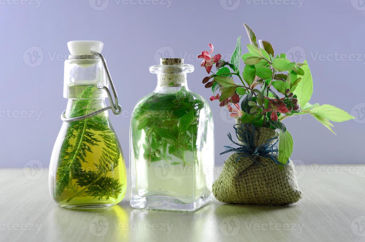 herbal tincture medicines photo