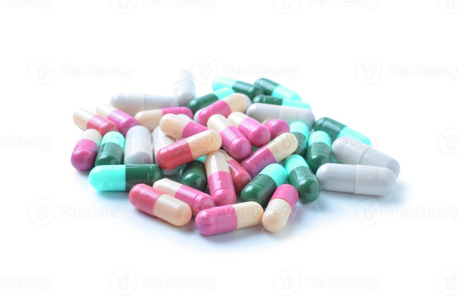 cápsulas medicinales, pastillas foto