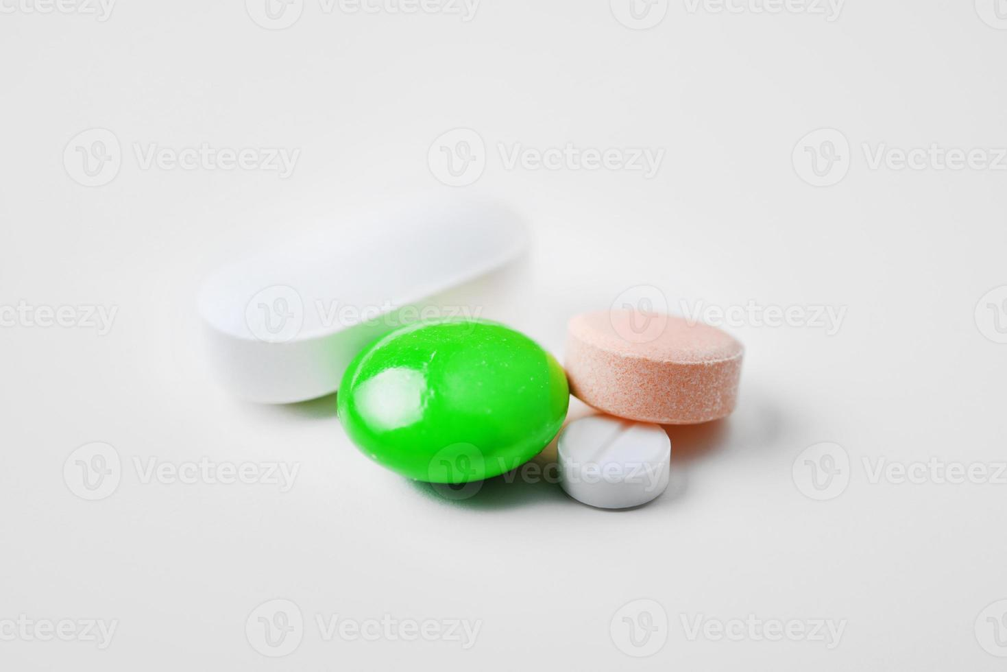 medicina y pastillas foto