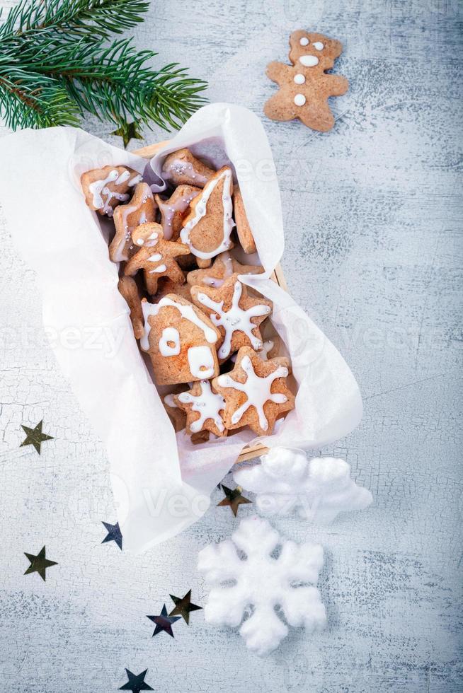 Biscoitos natalinos foto