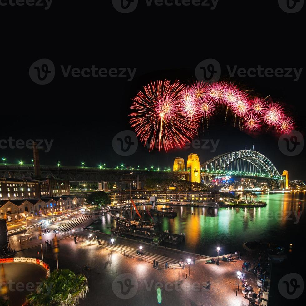Sydney New Years Eve Fireworks photo