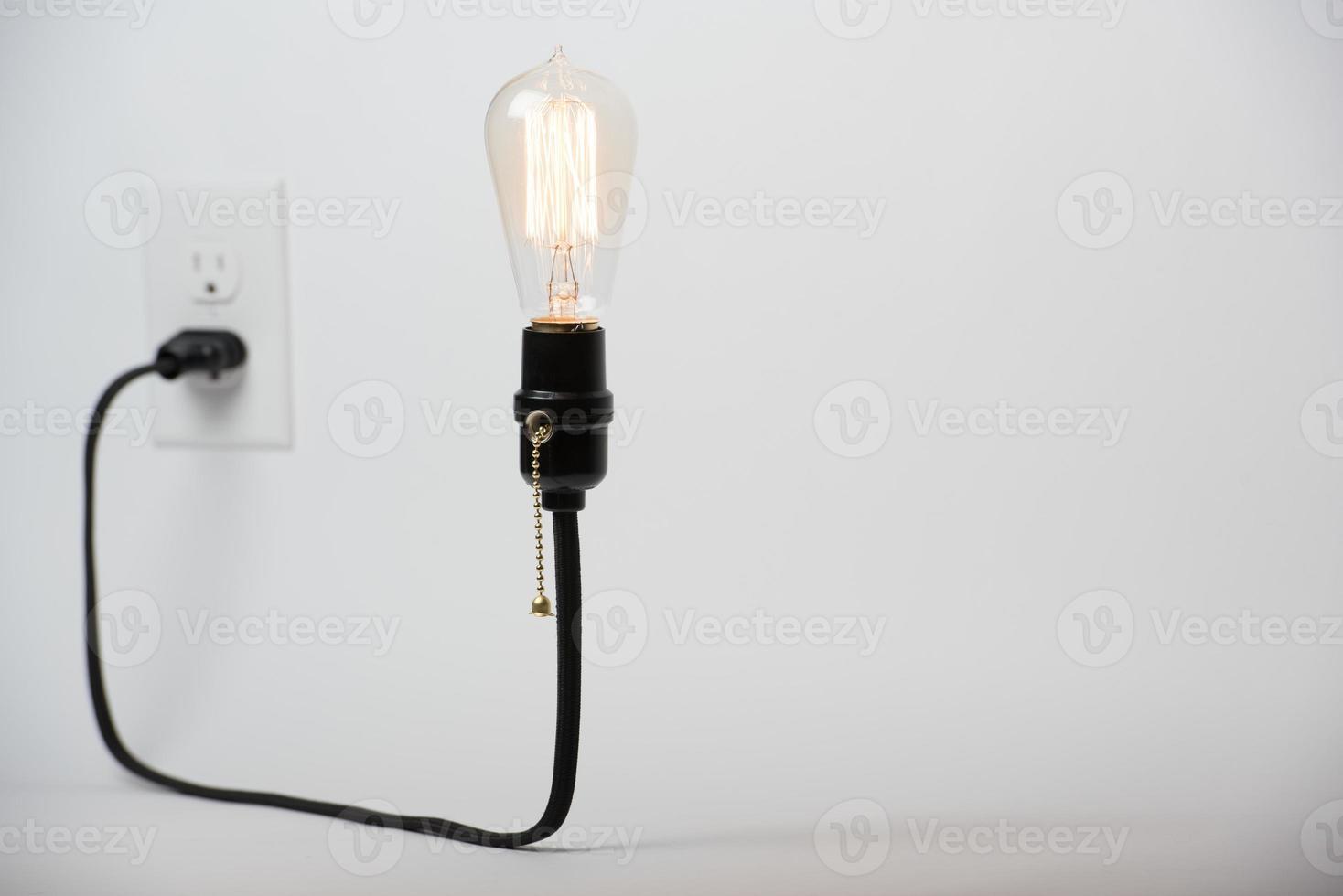 Lightbulb Plugged In Sideways photo