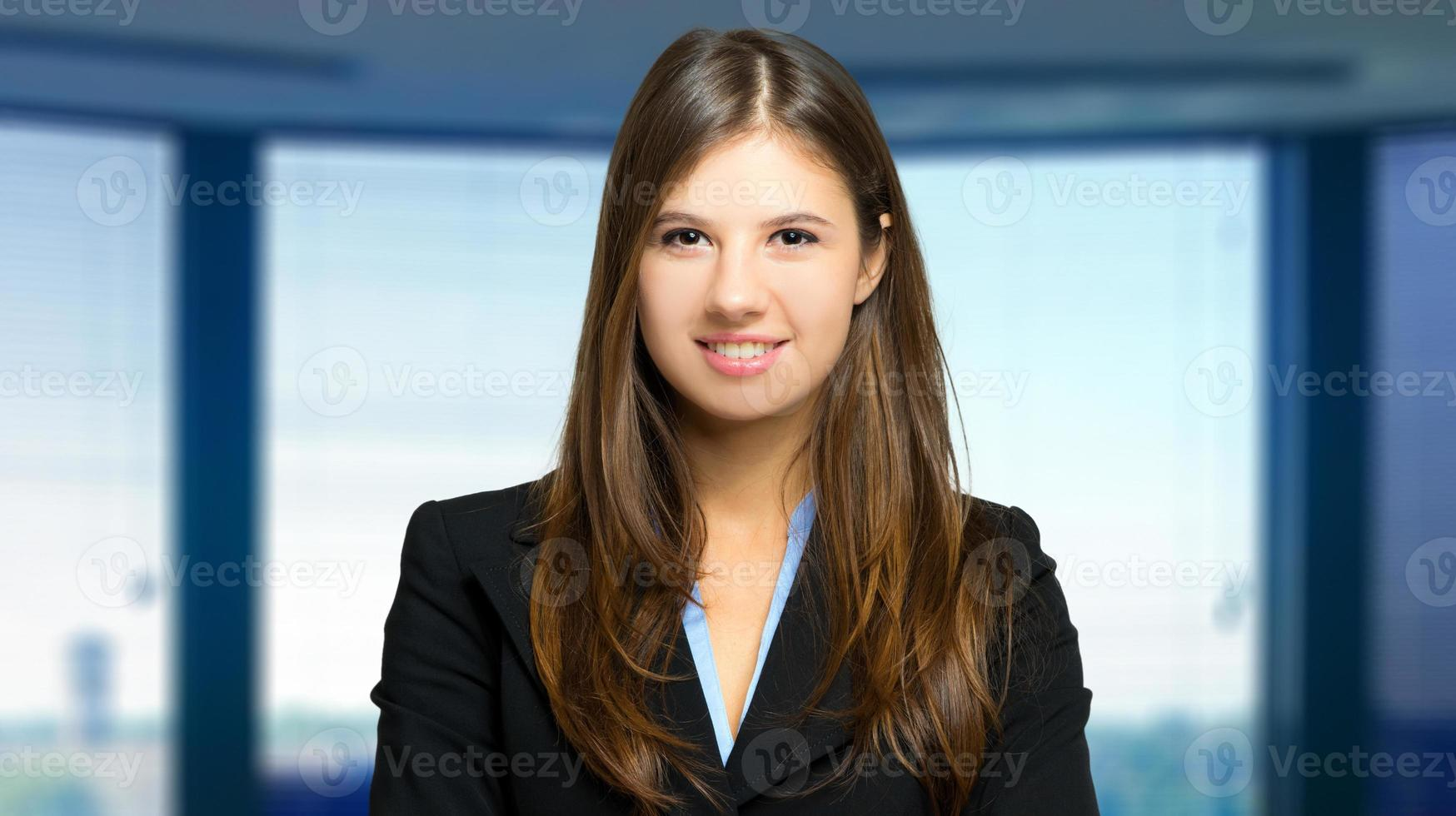 Businesswoman in her office photo