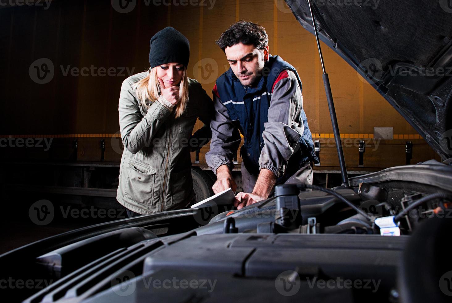 Repair shop photo