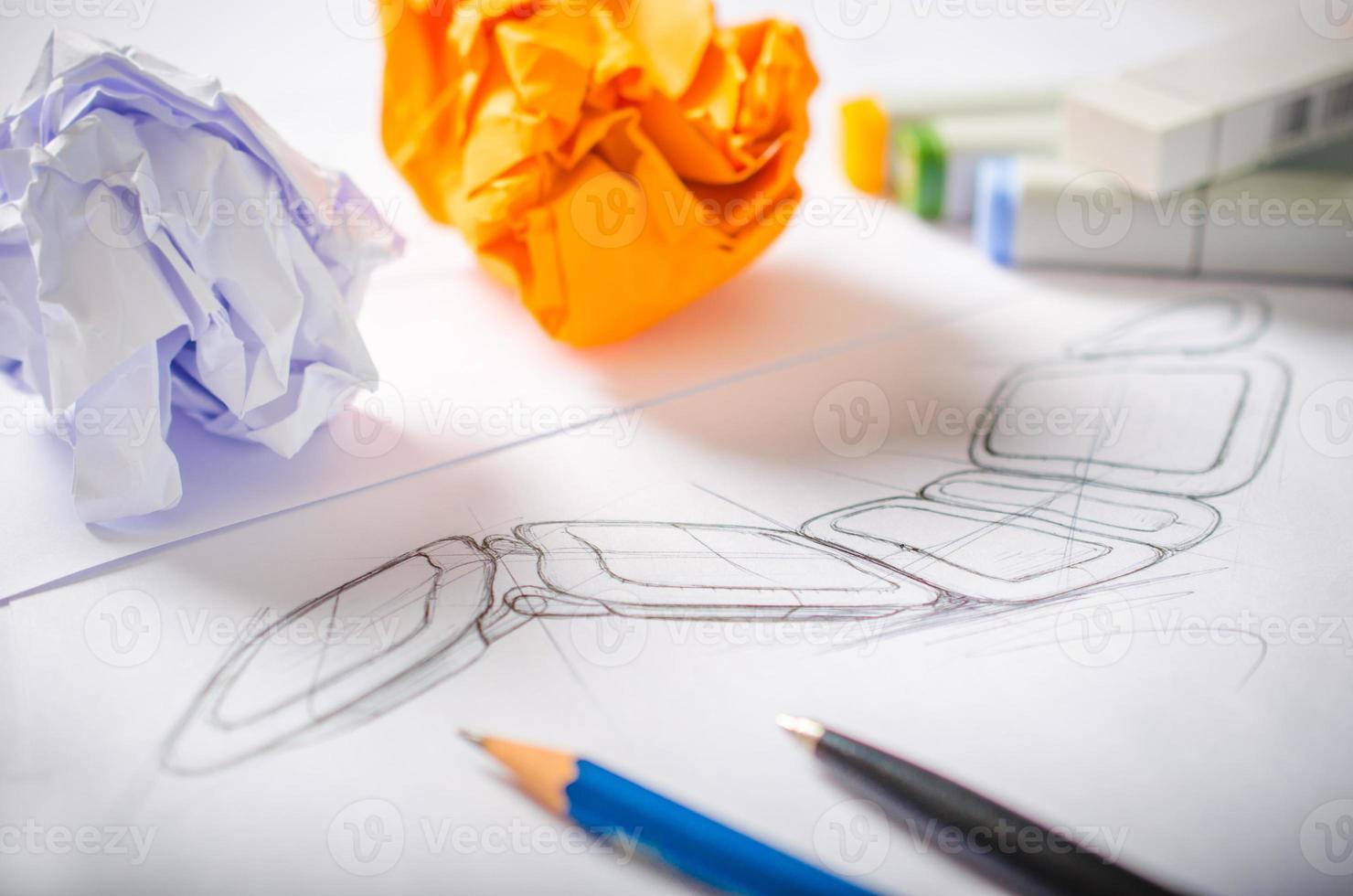 dibujo de diseñador foto