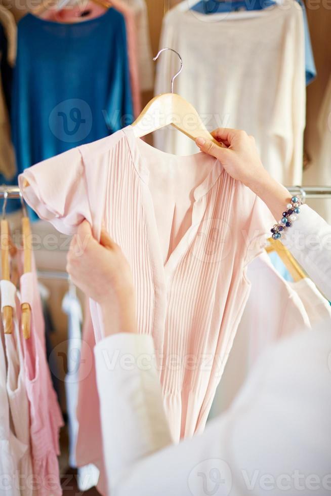 Elegant blouse photo