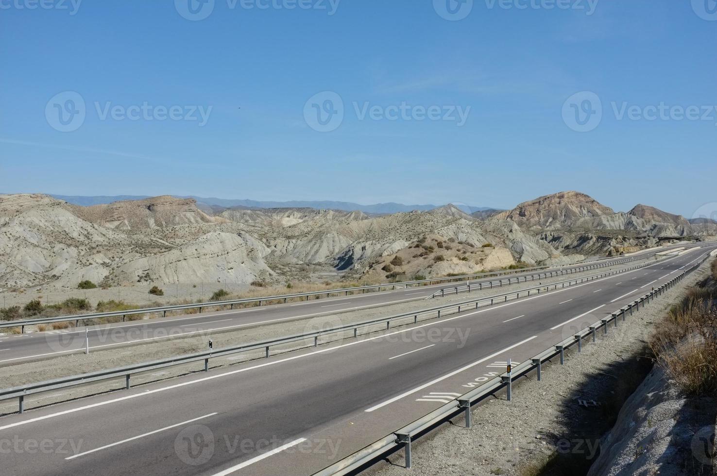 carretera del desierto foto