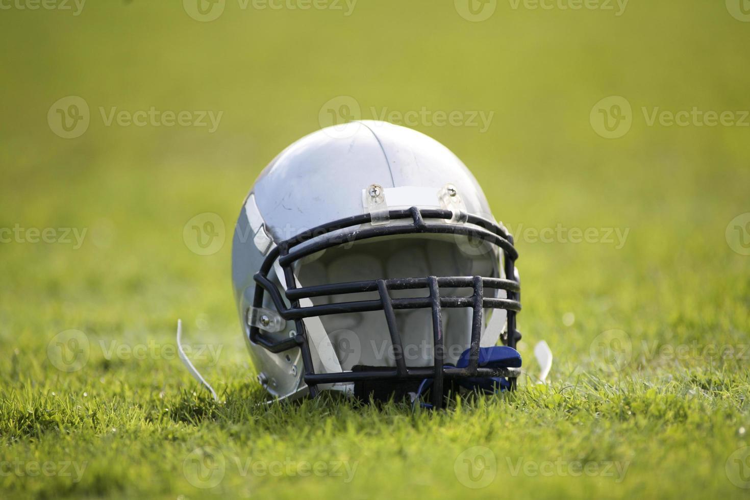 American Football helmet photo