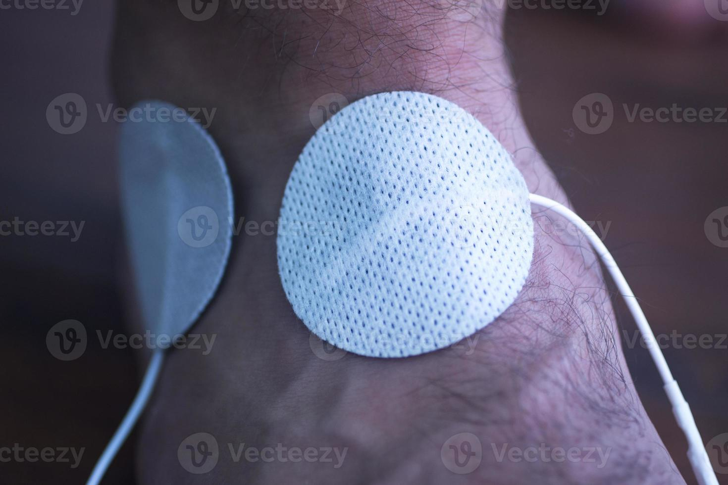 Patient hand arm wrist physiotherapy treatment photo