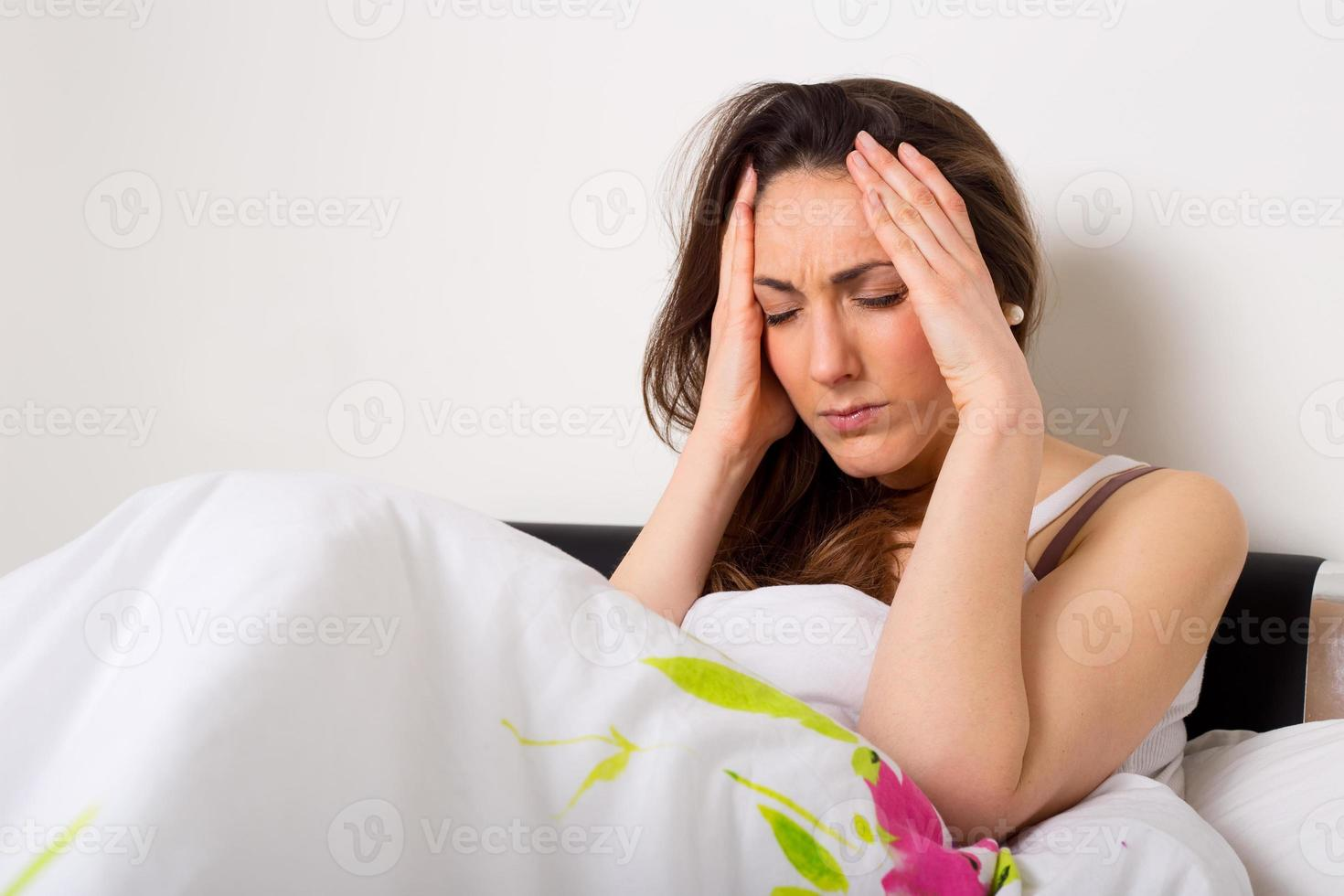 dolor de cabeza foto