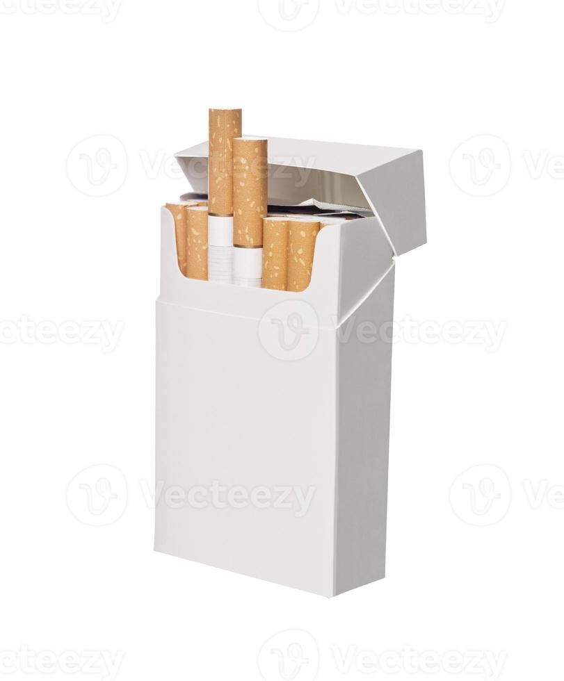 scatola di sigarette foto