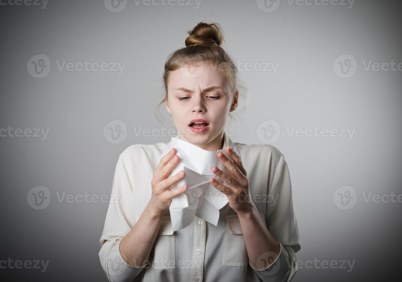 estornudar foto