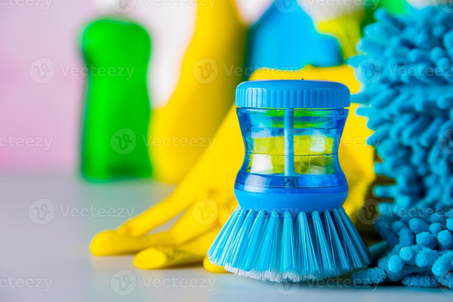 concepto de limpieza vívida foto