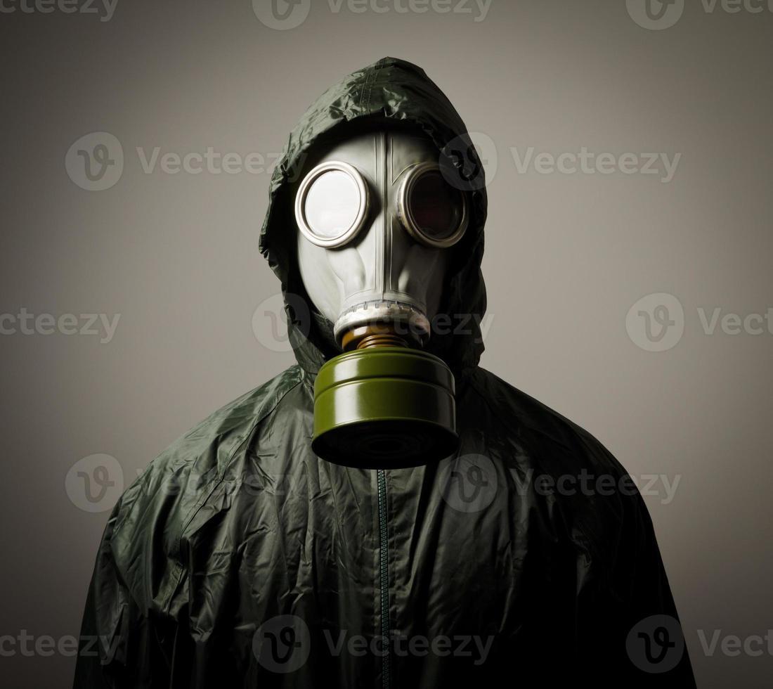 máscara de gas foto