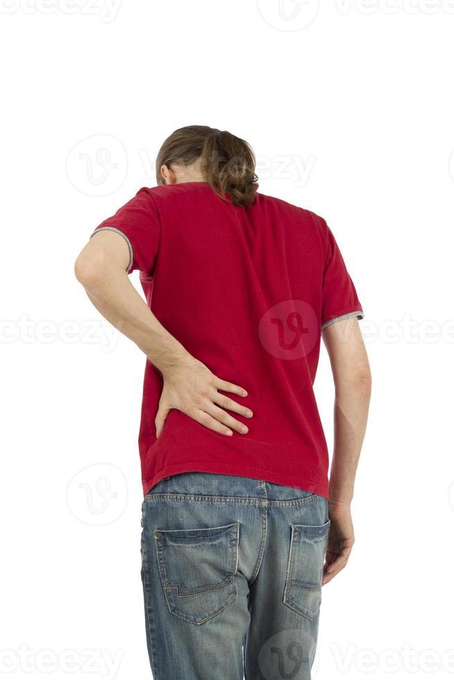 dolor de espalda foto
