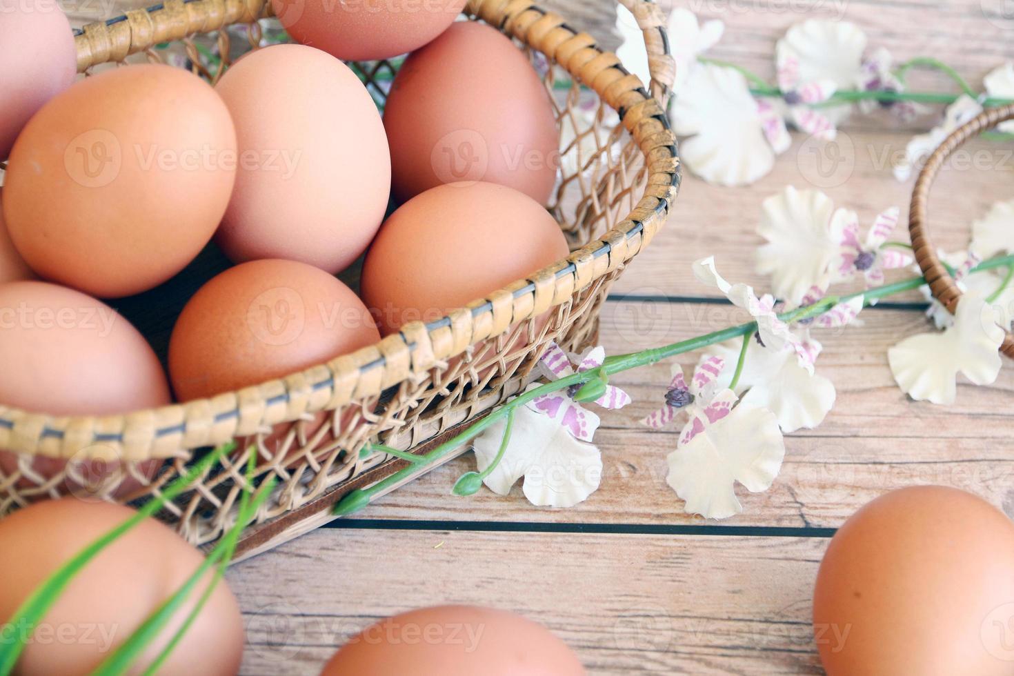 huevos viejo estilo vintage retro foto