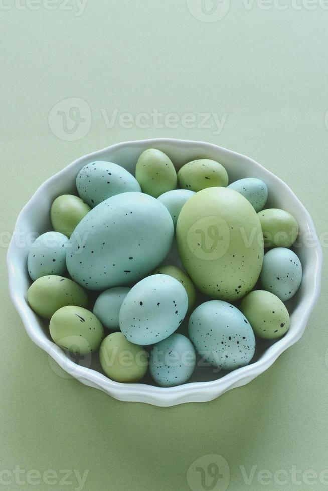 Pastel Easter eggs photo
