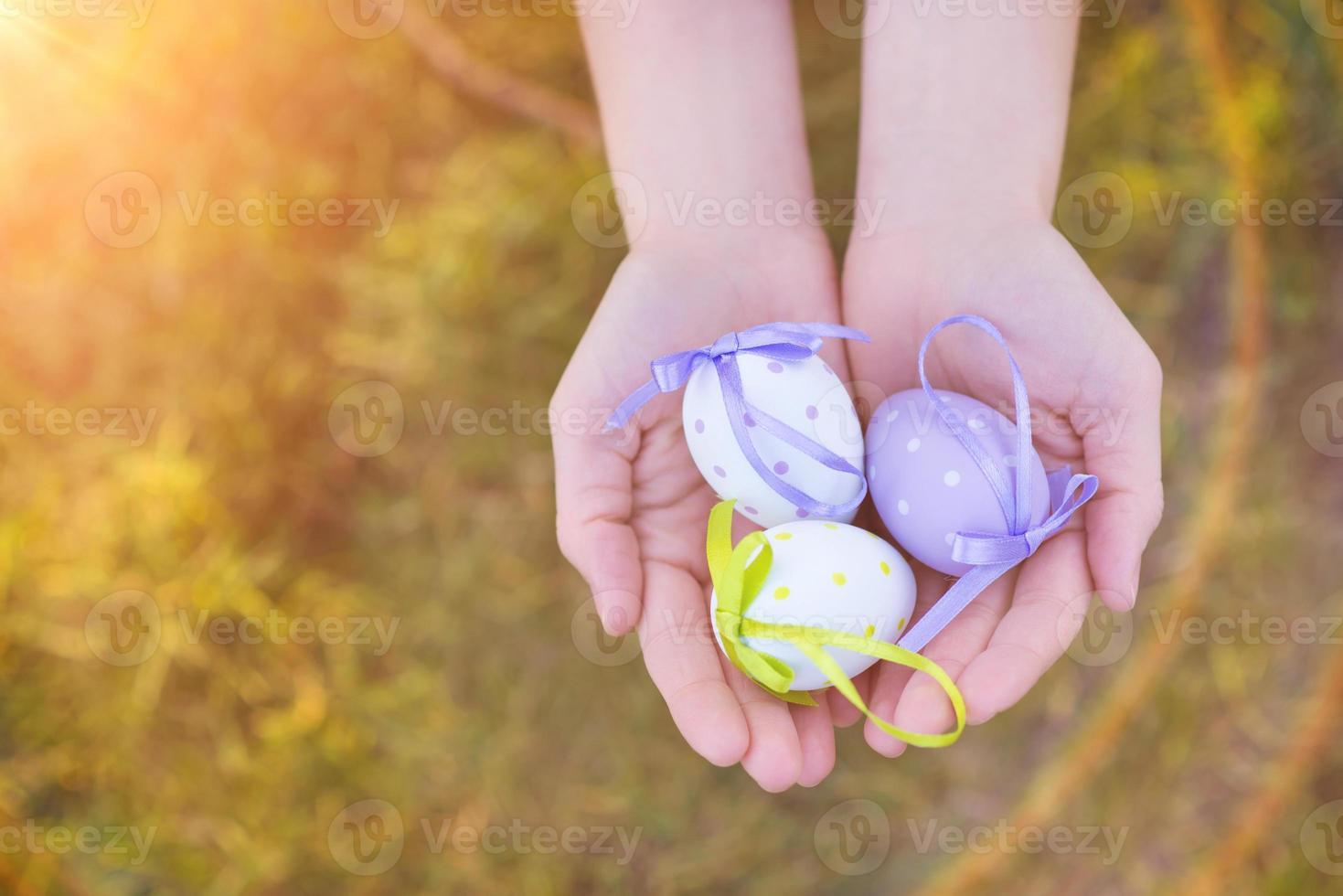 huevos de Pascua foto