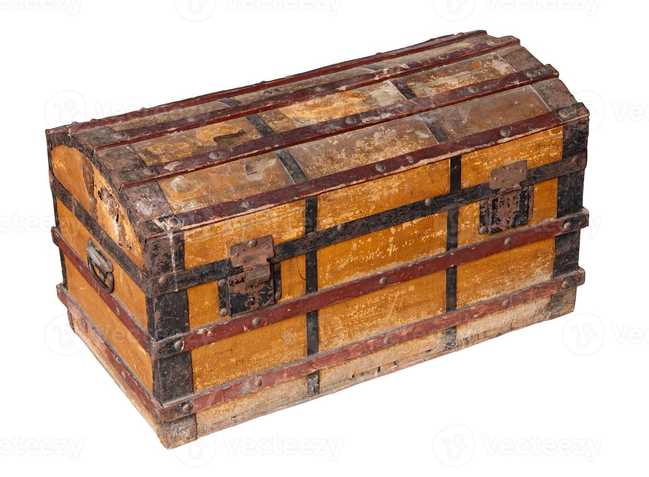 old worn trunk photo