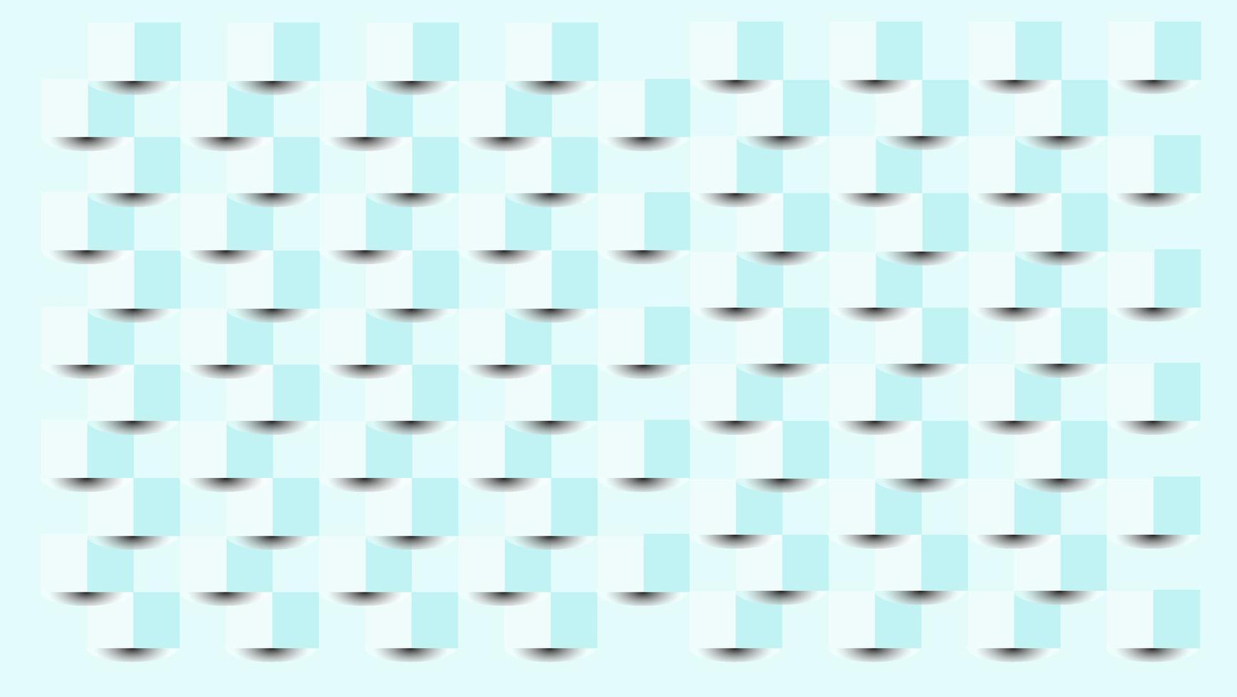 Découpe de pli de papier en cubes 3D vecteur
