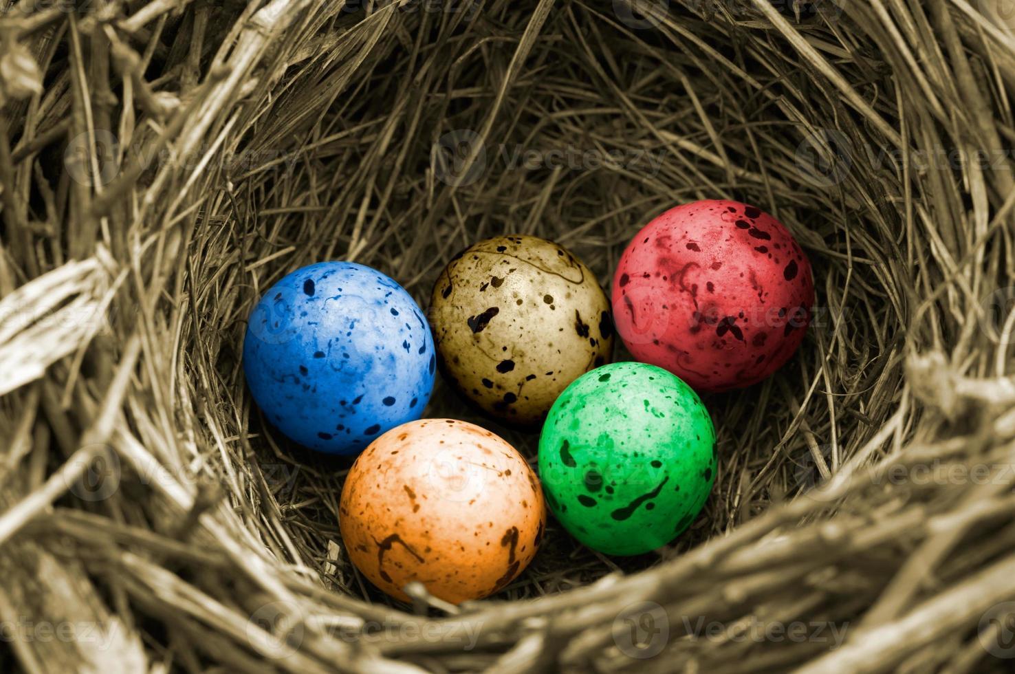 huevos olímpicos (versión en color) foto