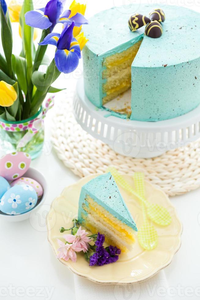 pastel de huevo robins foto
