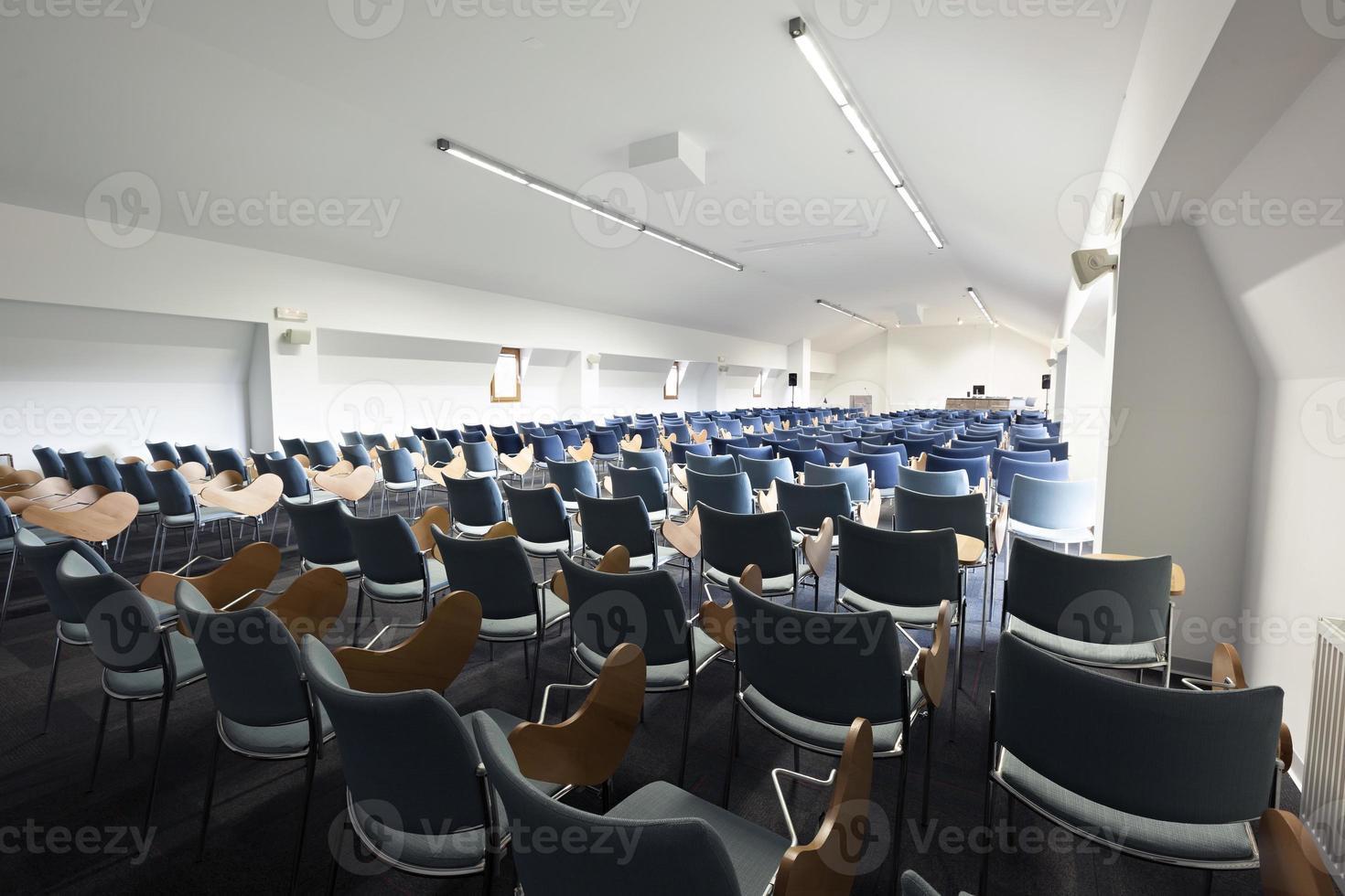 Modern lecture hall interior photo