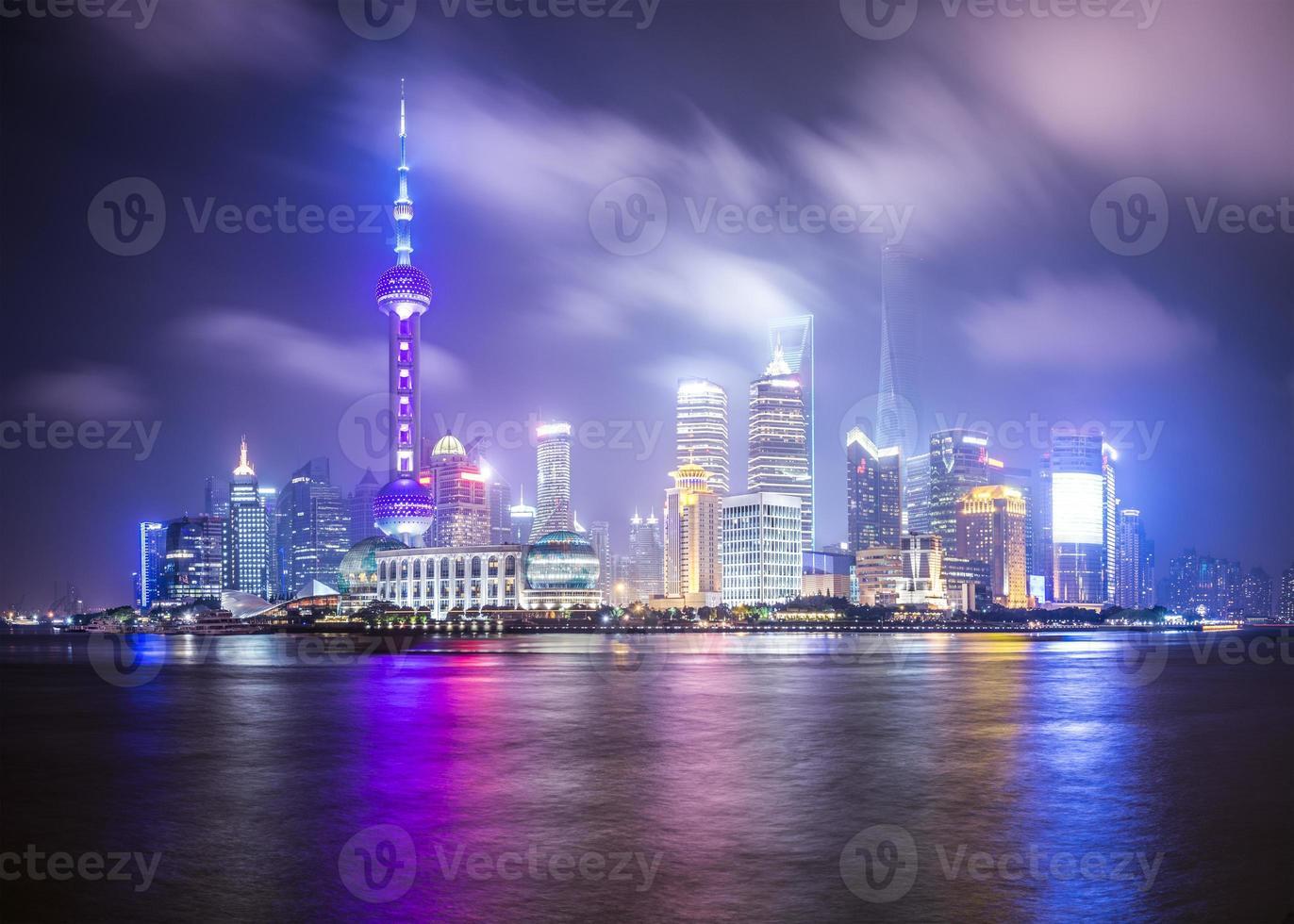 horizonte de shanghai foto