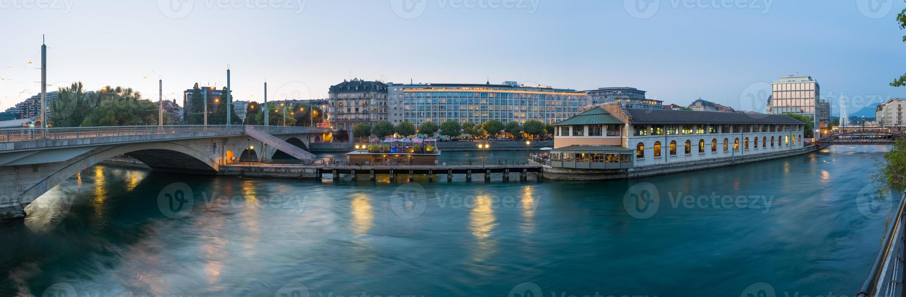 Geneva panoramic photo