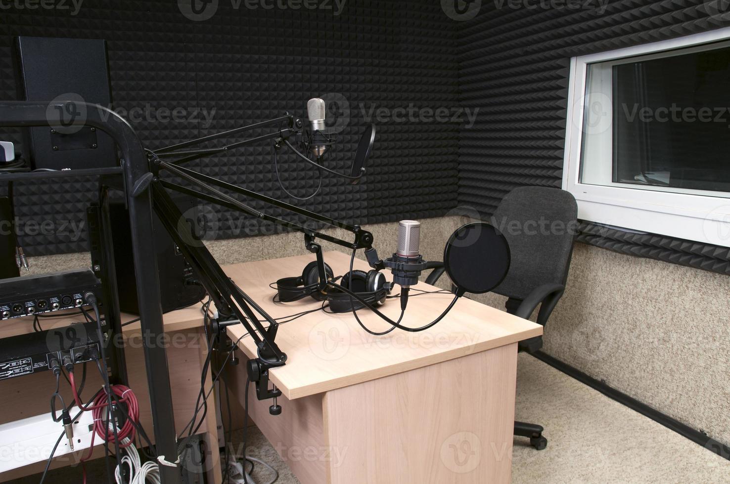radio studio photo