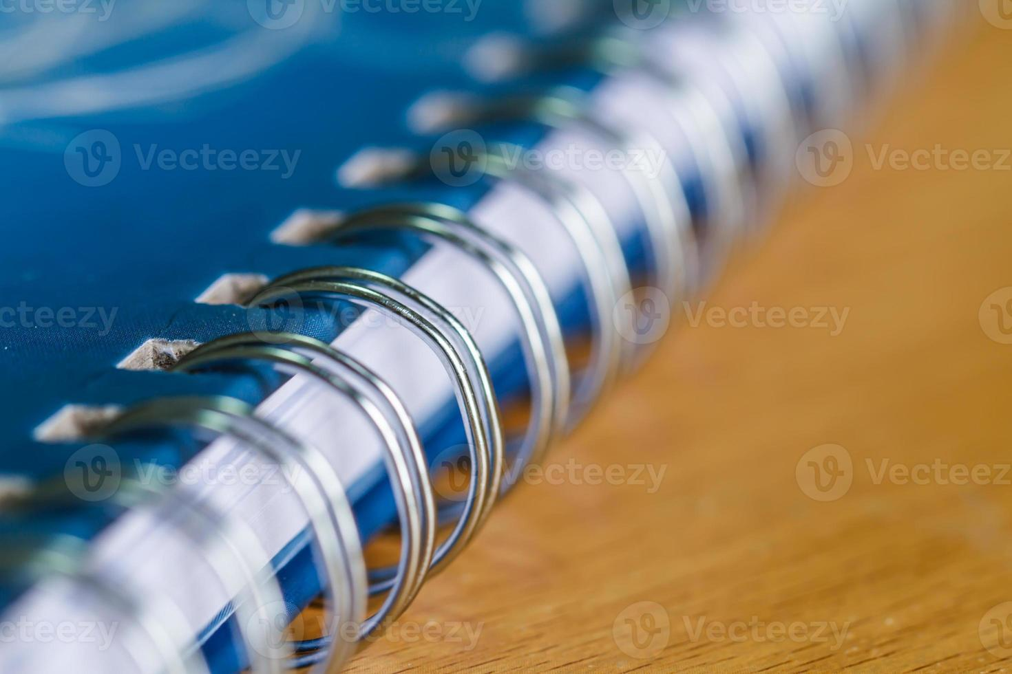 cuaderno tiene carpeta de anillas foto
