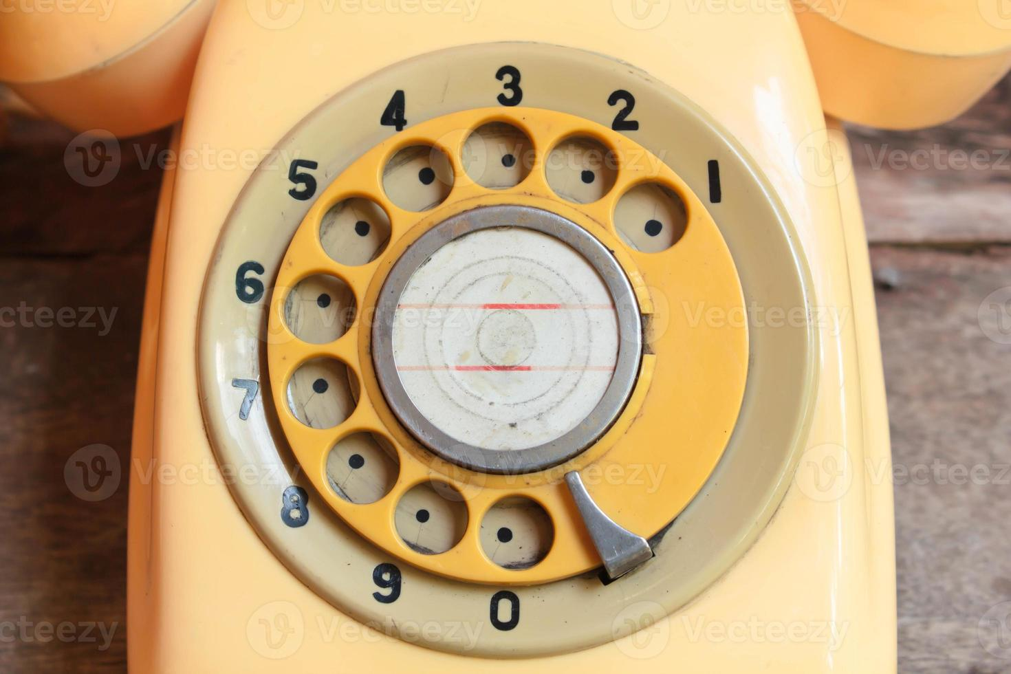 Teléfono retro. foto