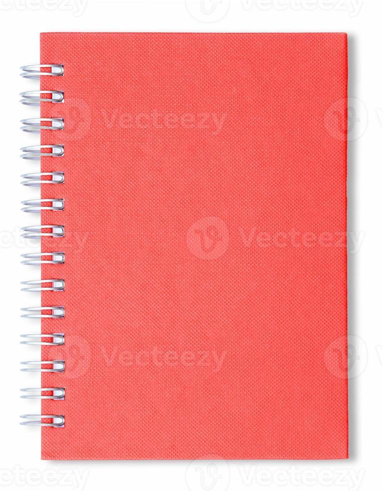 Spiral notebook photo