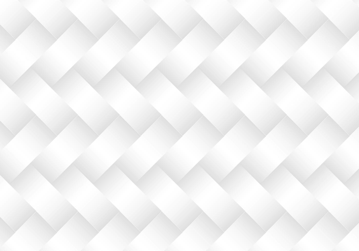 Modern White Basket Weave Pattern vector