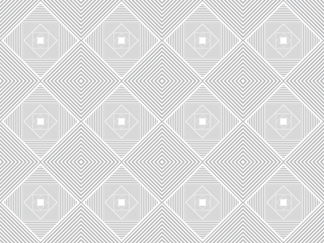 Abstract Grey Concentric Geometric Shape Pattern vector