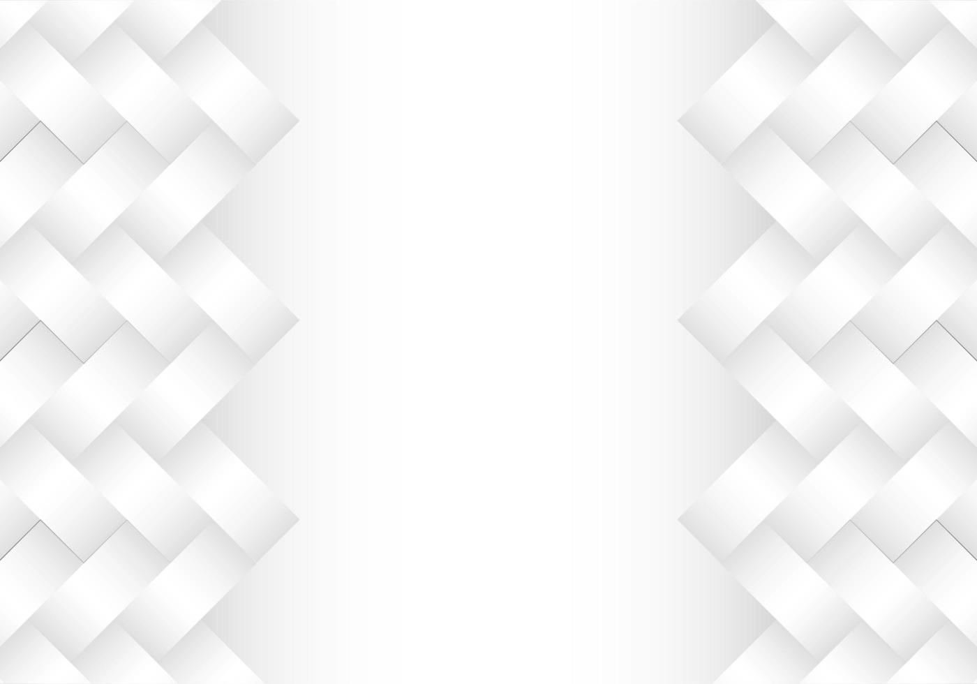 Fondo de borde de tejido de cesta blanca vector
