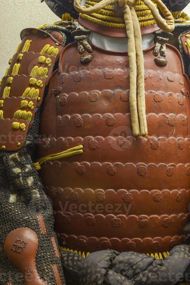 Samurai armour, Japan. photo