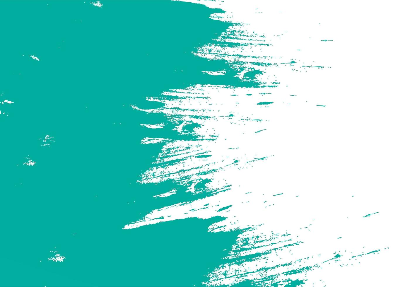 Teal Green Brushstroke Texture vector