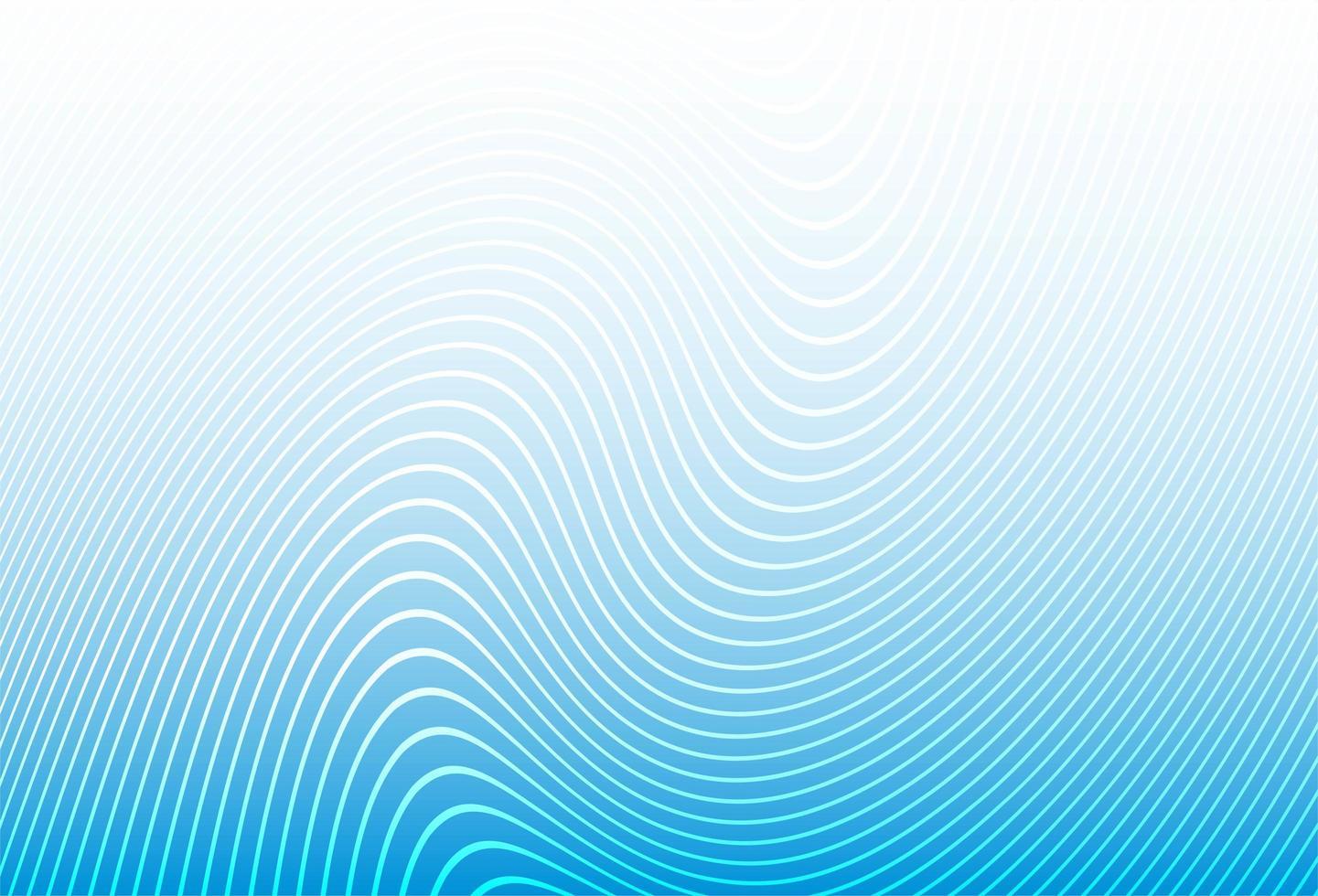 Fondo moderno de ondas azules vector