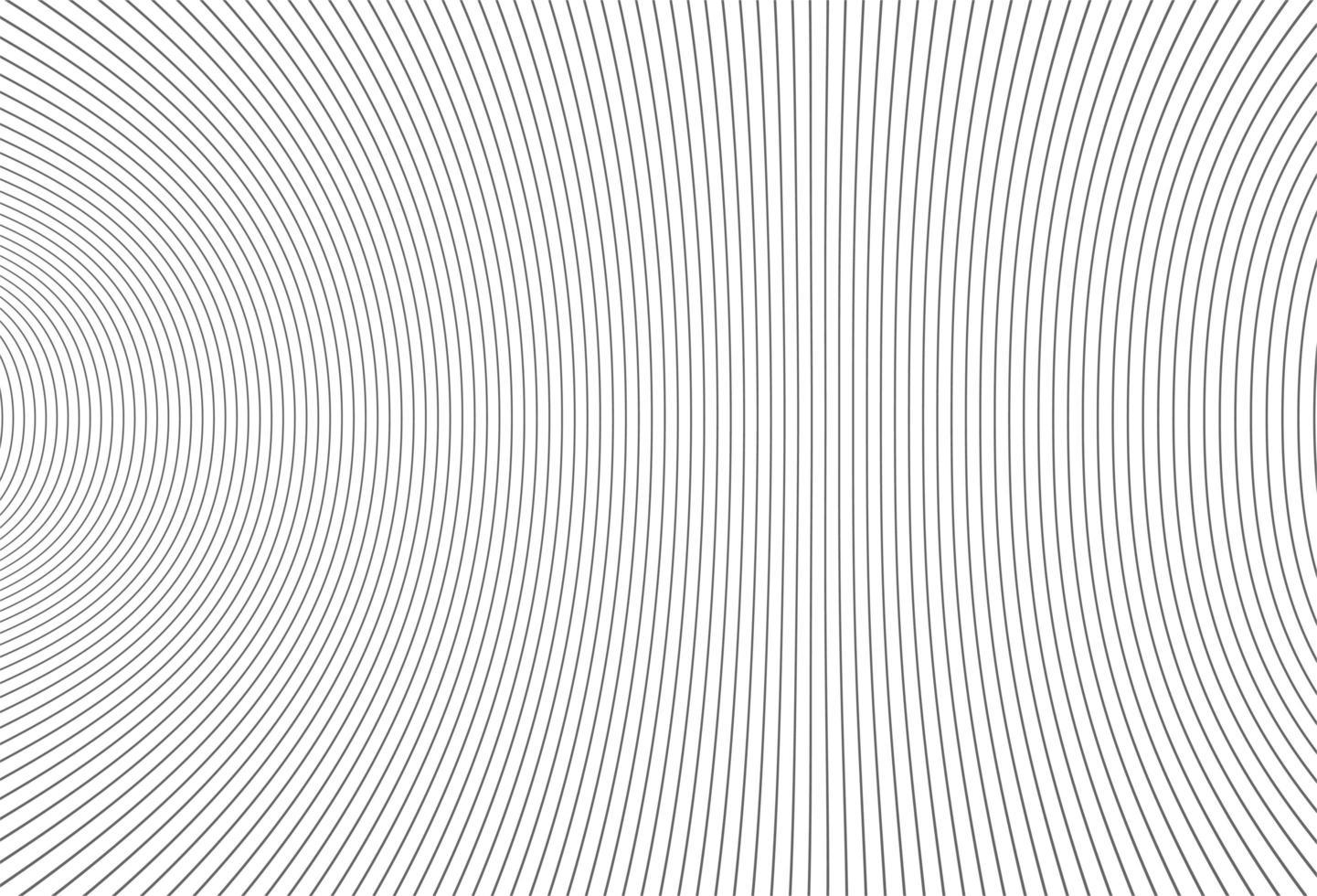 Fondo de líneas deformadas gris moderno vector