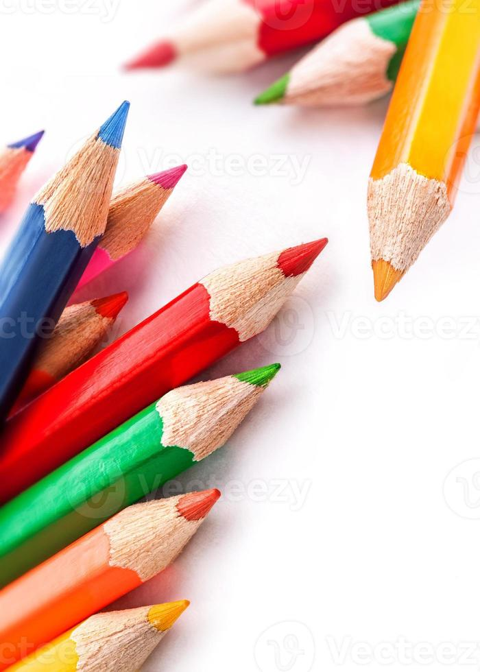 Colorful pencil photo