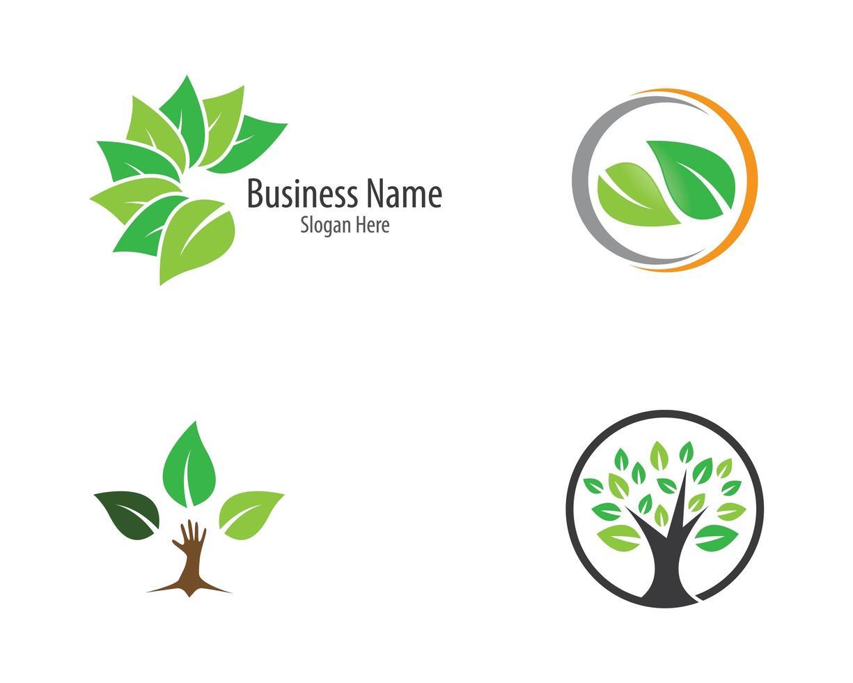 Ecology Logo Set  vector