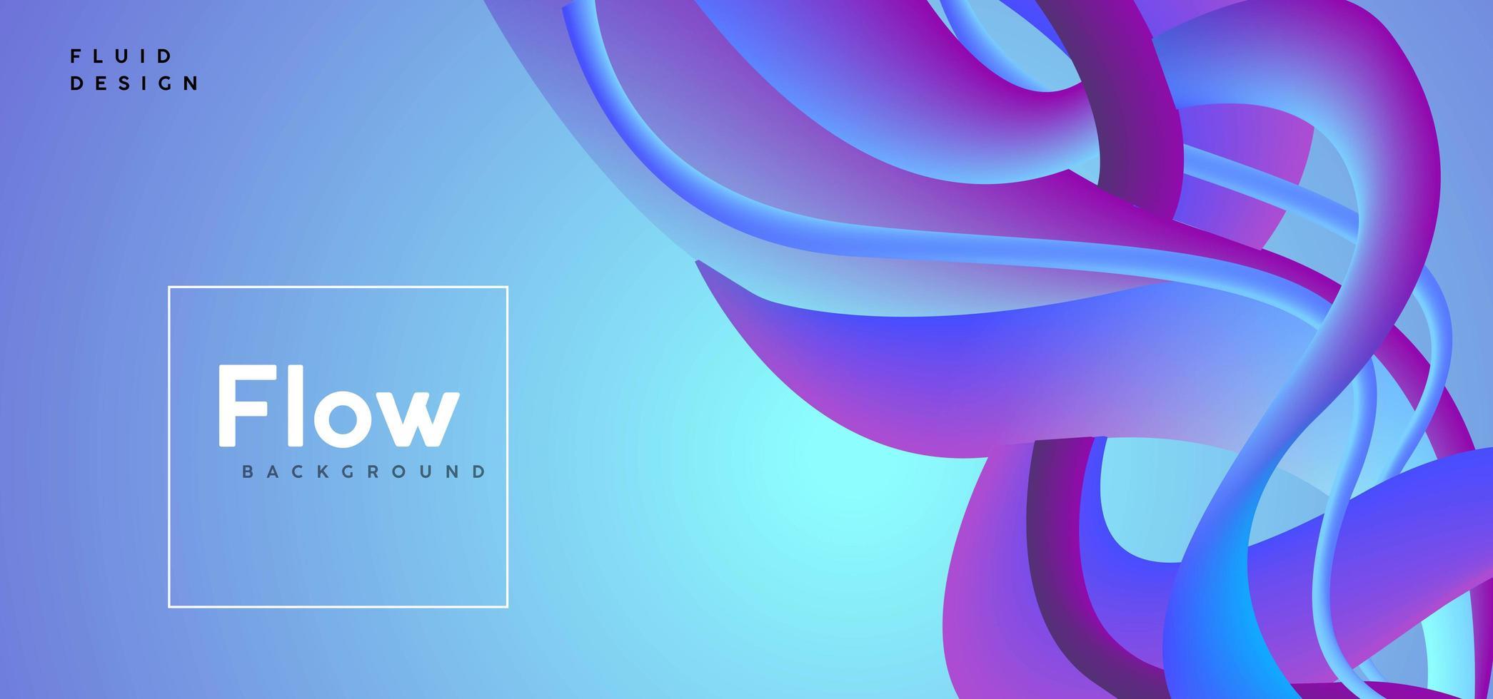 abstrato de fluxo azul vetor