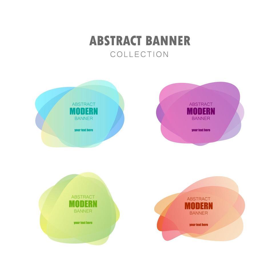 círculos transparentes gradientes vetor