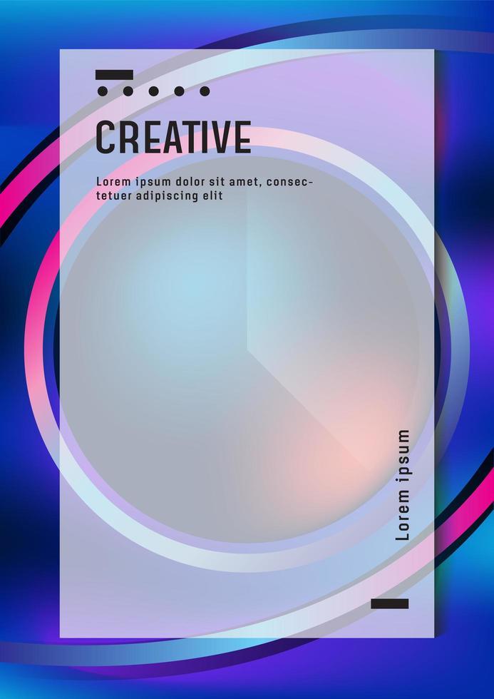 modèle de conception d'affiche moderne pour document d'entreprise ou d'entreprise vecteur
